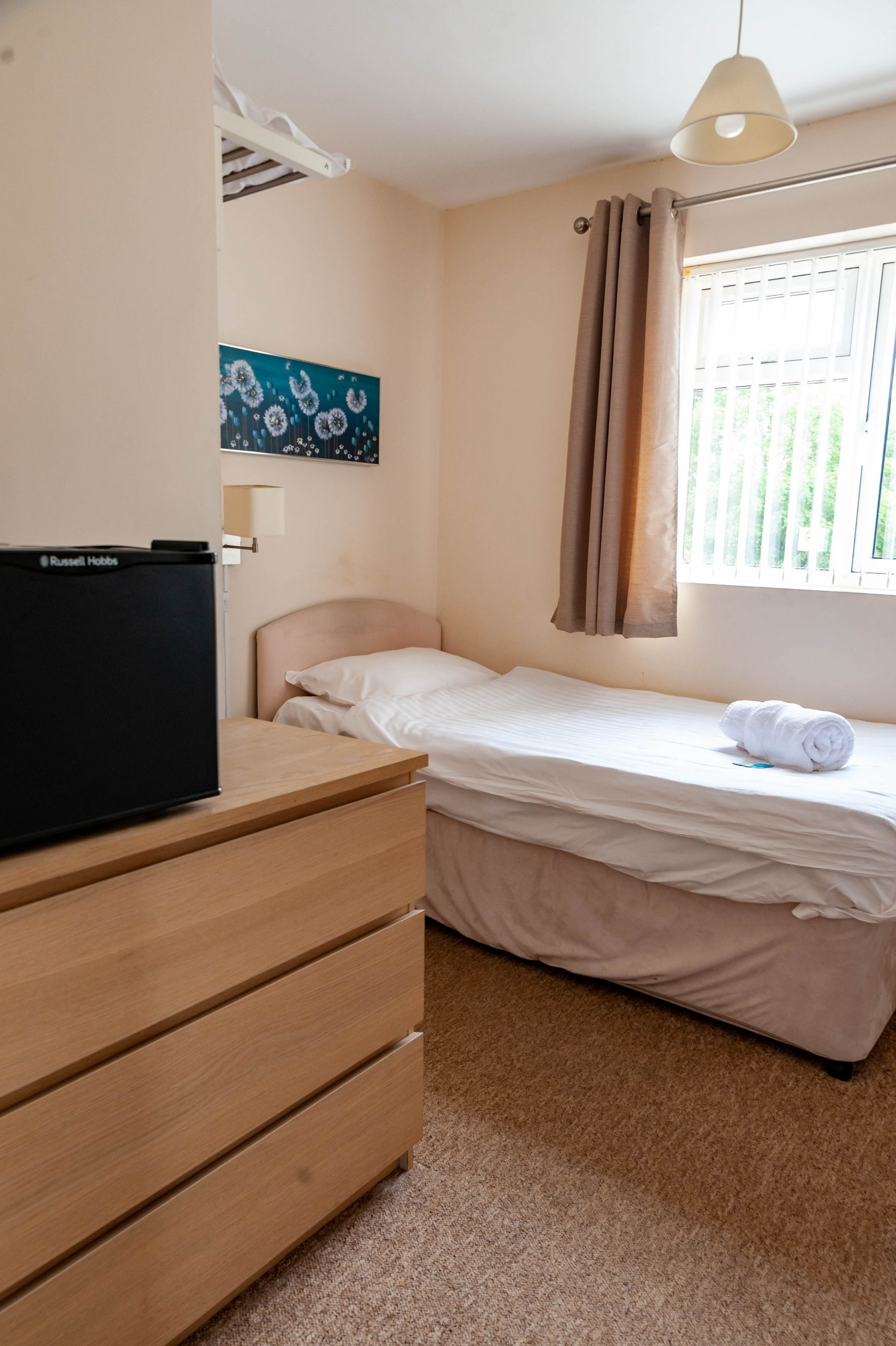 Standard single room, located upstairs